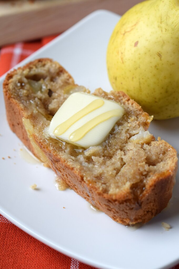 Spiced Pear Quick Bread